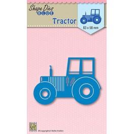 Nellies Choice Shape Die Blue Traktor