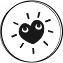 NIO Stempelmotiv Shiny Heart Blink