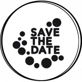 NIO Stempelmotiv Save the Date Dots