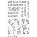 "Motivstempel ""Dashing Deer"""