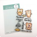 """Clear Stamp Set """"More Than Pie"""""""