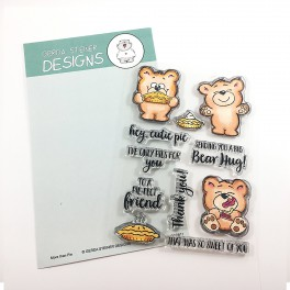 "Clear Stamp Set ""More Than Pie"""