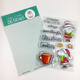 """Clear Stamp Set """"Smell like Christmas"""""""
