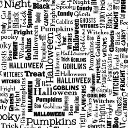"Motivstempel Cover-a-Card ""Halloween Text"""