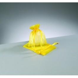 Organza Beutel mini gelb