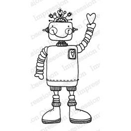 """Motivstempel """"Willy Robot"""""""