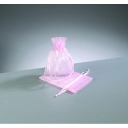 Organza Beutel mini rosa