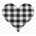 """Motivstempel """"Gingham Heart"""""""