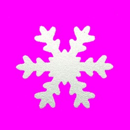 Motivlocher XL Schneeflocke