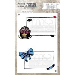 """Clear Stamp Set """"Envelope Presents"""""""