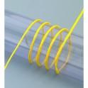 Papierkordel mit Draht, gelb