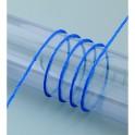 Papierkordel mit Draht, blau