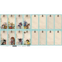 Designpaper Children Collection Tags