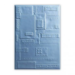 Sizzix 3-D Embossing Folder - Rivets Tim Holtz