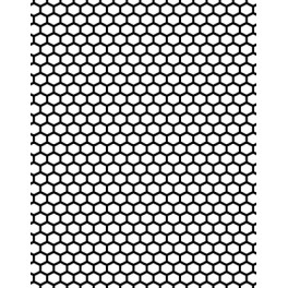 "Motivstempel Cover-a-Card A6 ""Honeycomb"