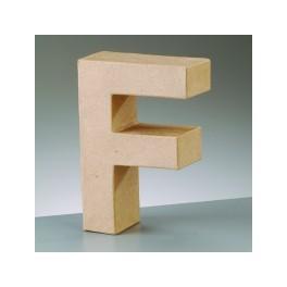 Papp Art Buchstabe F klein