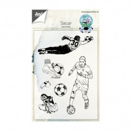 "Clear stamps ""Fußball"""