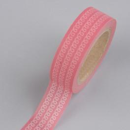 "Creative Tape ""Schlaufen rosa"""