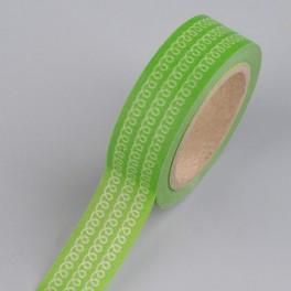 """Creative Tape """"Schlaufen grün"""""""