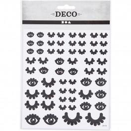 Sticker Augen