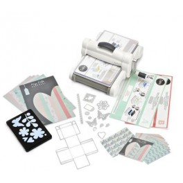 Sizzix Big Shot Plus Starter Kit White & Grey