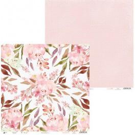"Piatek13 - Papier 12"" Love in Bloom 01"