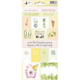 Piatek13 - Sticker Sheet Sunshine 02