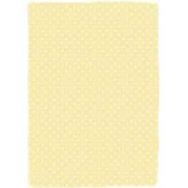 """Basic Collection Papier A4 """"Yellow Dots"""""""