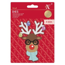 Xcut Dies Build A Reindeer