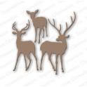 """Schneideschablone """"Deer Trio"""""""