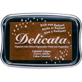 Delicata Stempelkissen Celestial Copper