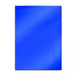 Tonic Studios Mirror Card Satin Cobald Velour