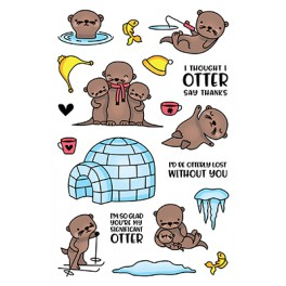 LDRS Creative Otterly Lovable Clearstamps