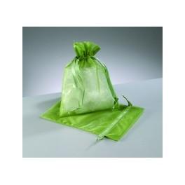 Organza Beutel grün