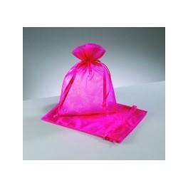 Organza Beutel pink