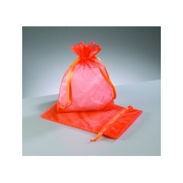 Organza Beutel orange