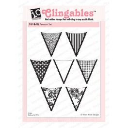 "Motivstempel ""Pennants Set"""