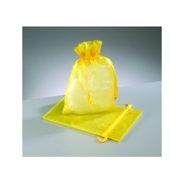 Organza Beutel gelb