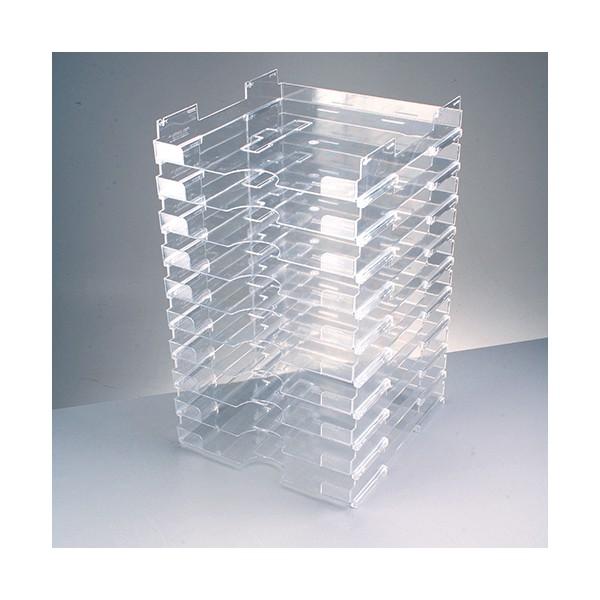10 stapelkasten mit riefe f r scrapbookpapier 12 x12. Black Bedroom Furniture Sets. Home Design Ideas