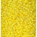 Rocailles 2,6mm irisierend zartgelb