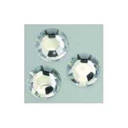 Schmucksteine Acryl facettiert 4 mm kristall klar