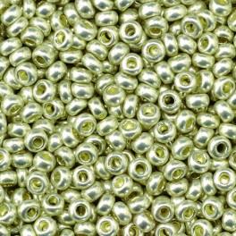 Rocailles 2,6mm metallic silber