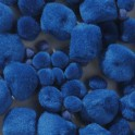 Pompons blau