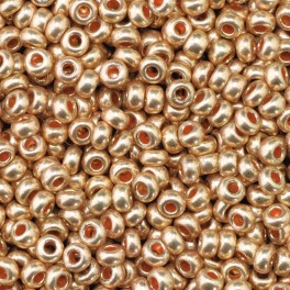 Rocailles 2,6mm metallic kupfer