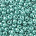 Rocailles 2,6mm opal türkis