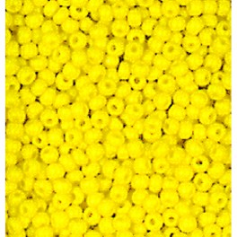 Rocailles 3,5mm opak gelb