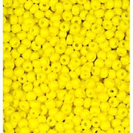 Rocailles 2,6mm opak gelb