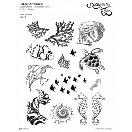 "Motivstempelset ""Sea Creatures 1"""