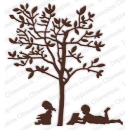 """Schneideschablone """"Reading Tree"""""""