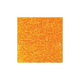 Rocailles 2,6mm transparent dunkelgelb